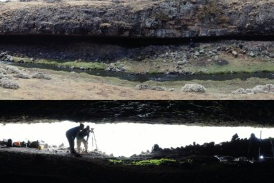 ethiopia stone age cave