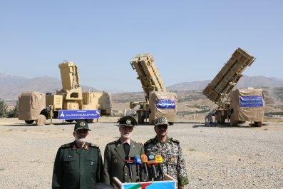 iran defense missile system