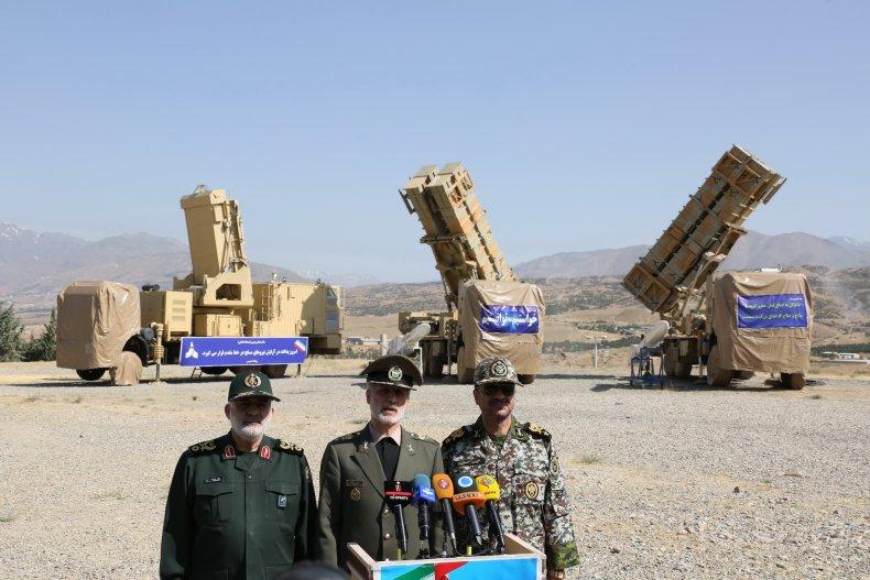 iran defense missile system