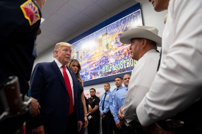 Donald Trump in El Paso