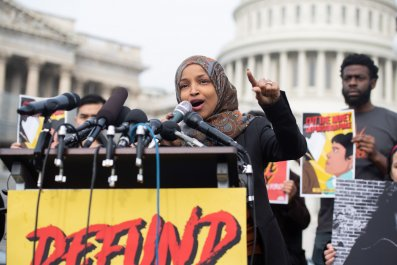 Ilhan Omar Students For Trump