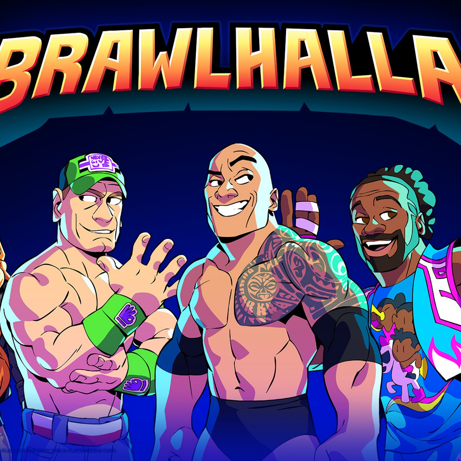 Brawlhalla' Update Adds WWE Superstars The Rock, John Cena, Becky