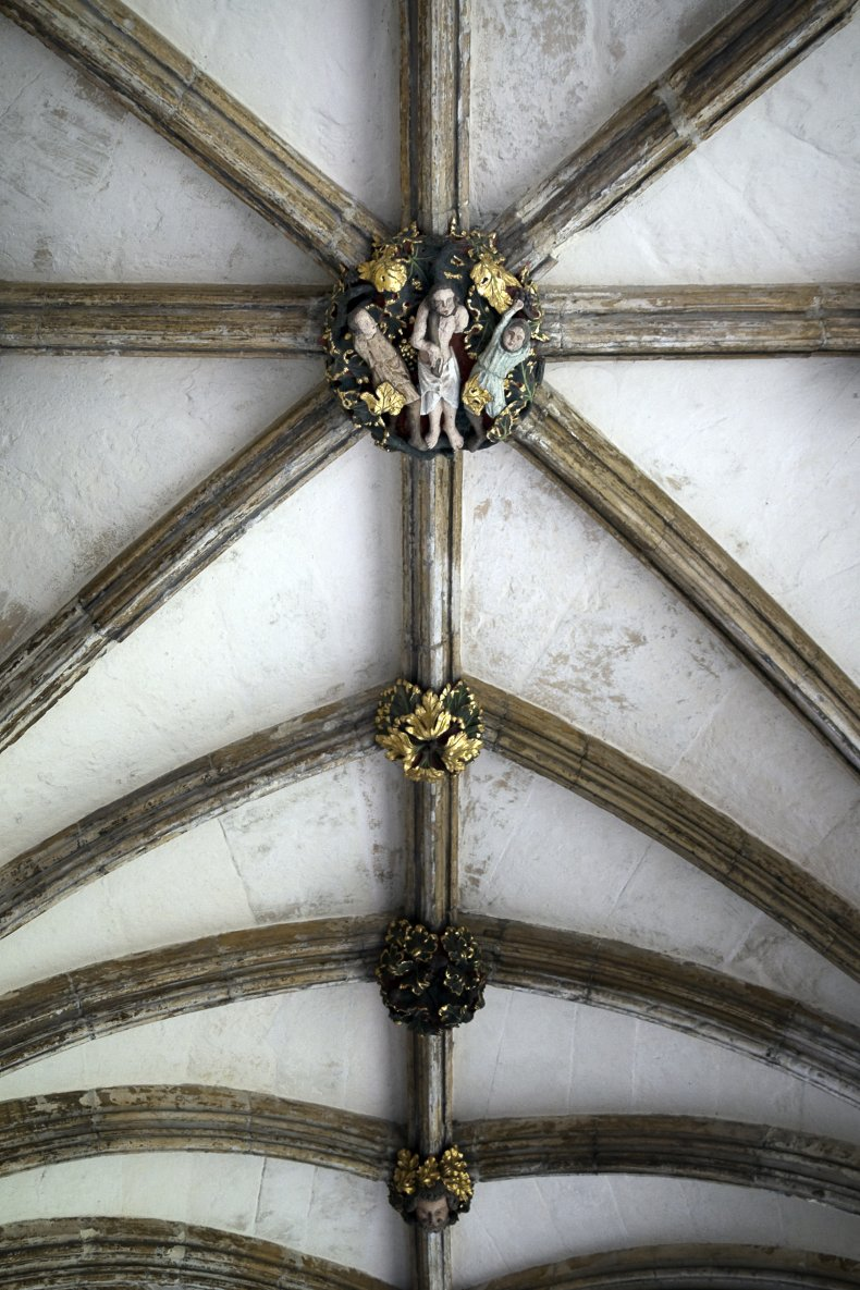 norwich cathedral roof boss