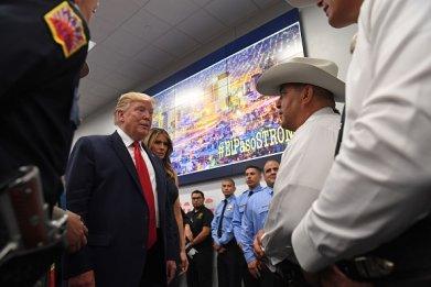 trump visits el paso after mass shooting