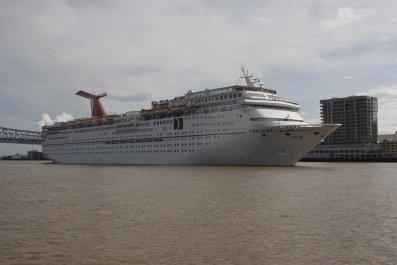 Carnival cruise ship Fantasy failed health inspection