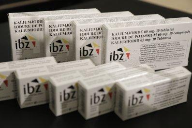 iodine pills radiation medicine