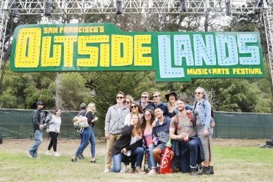 outside lands lineup schedule map