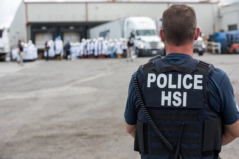 immigration customs enforcement raid