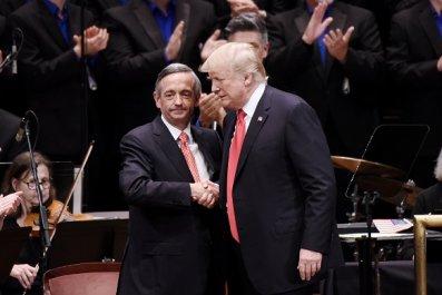 trump evangelical leader robert jeffress