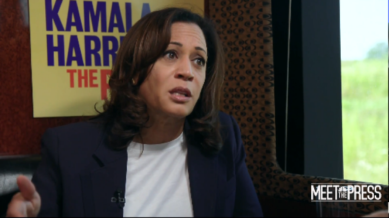 kamala harris race russia election
