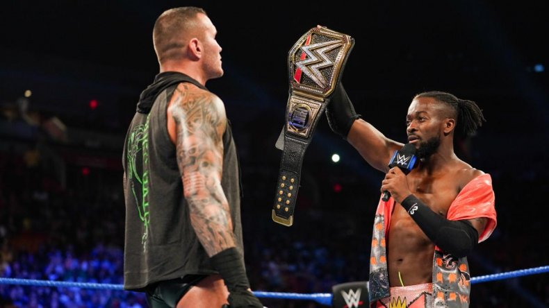randy orton kofi kingston smackdown wwe