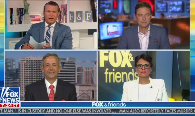 Fox News Panel Pete Hegseth