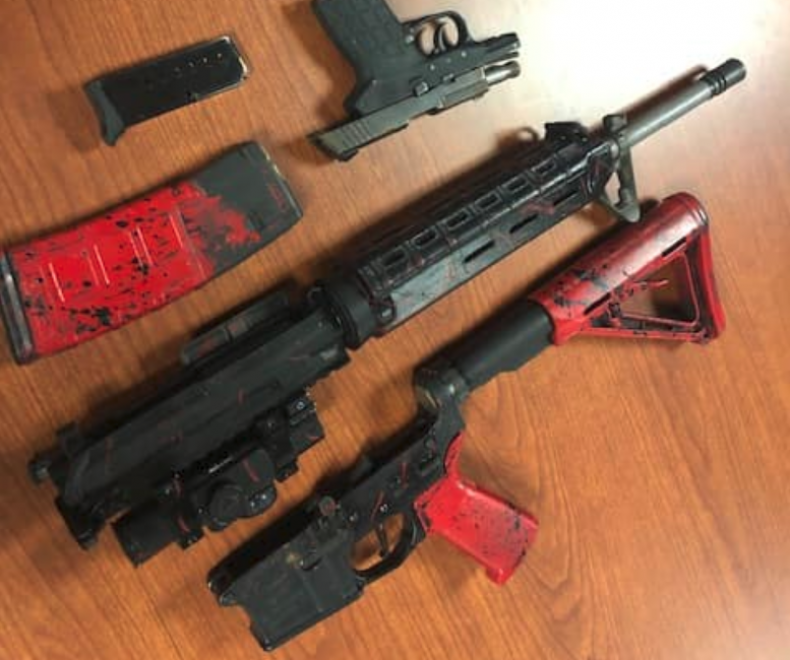 Florida Traffic Stop Weapons