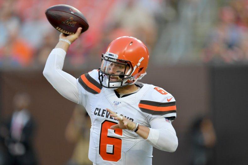 Baker Mayfield, Cleveland Browns