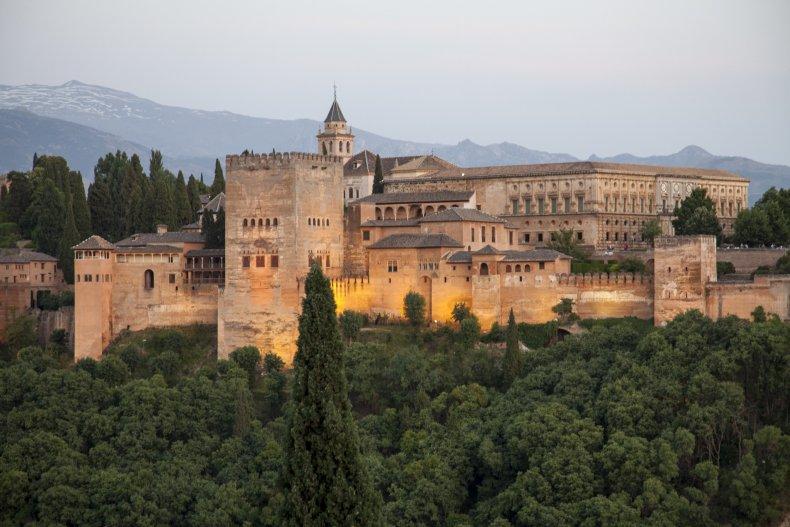 Alhambra Palace Grenada Spain