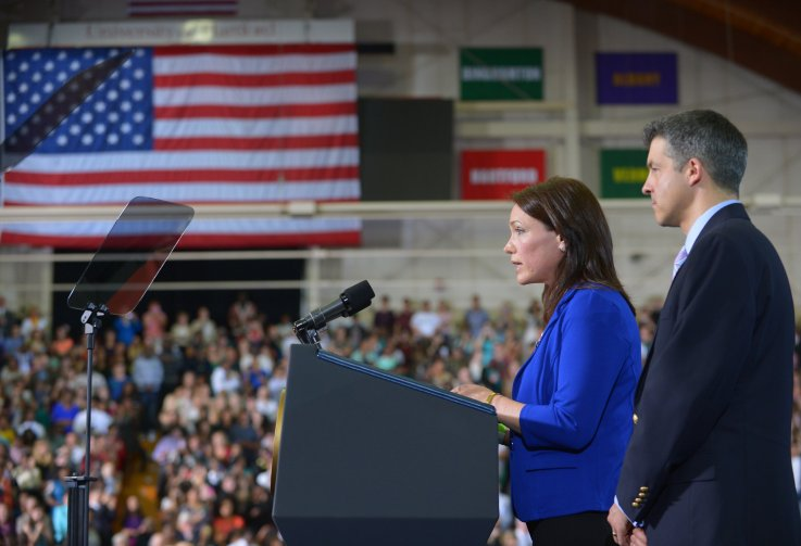 Nicole Hockley Barack Obama Event