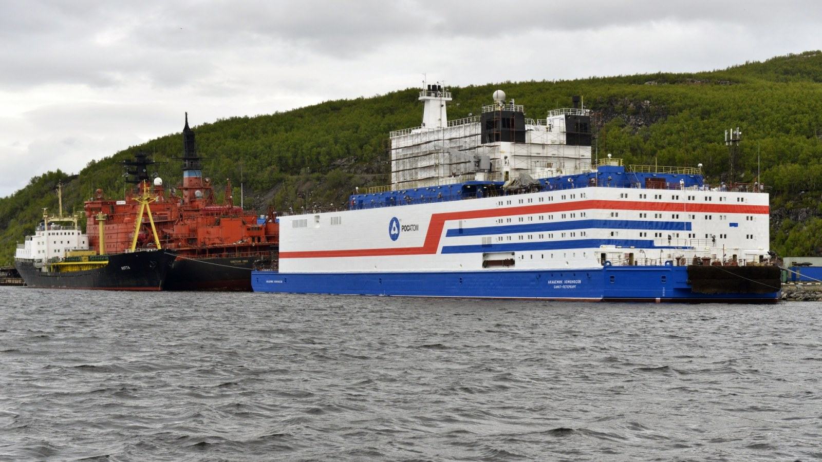 Russia's Nuclear Power Plant Ship Raises U S  Fears While Questions
