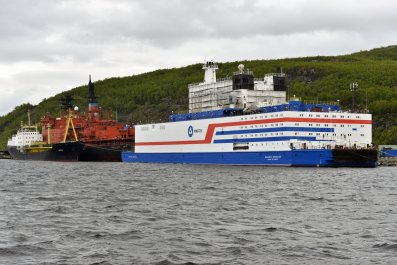 russia floating nuclear power plant