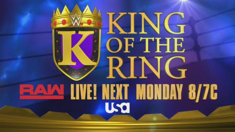 wwe king of the ring returns raw