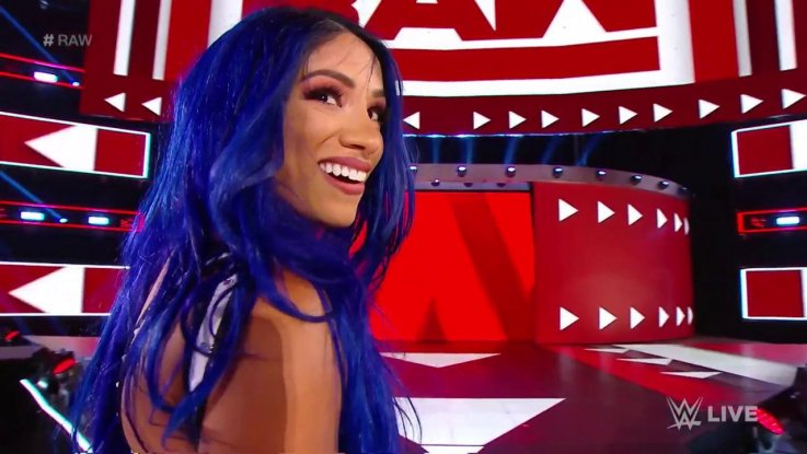 wwe sasha banks returns monday night raw