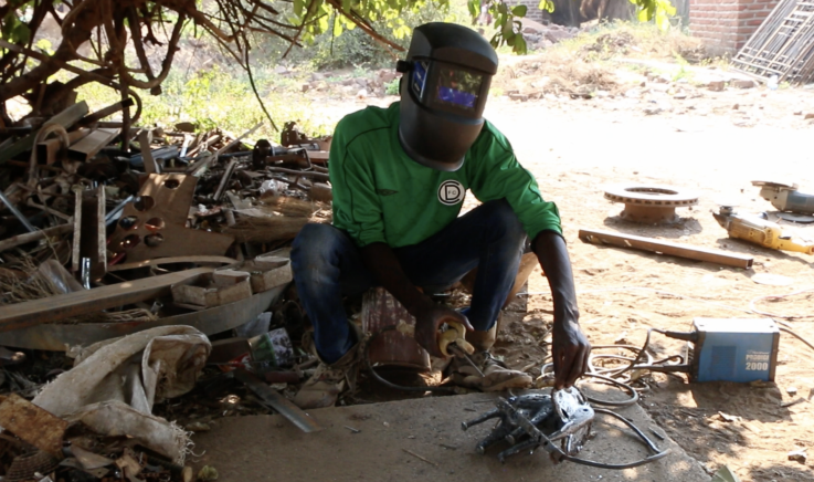 The Junk Art King Of Zambia