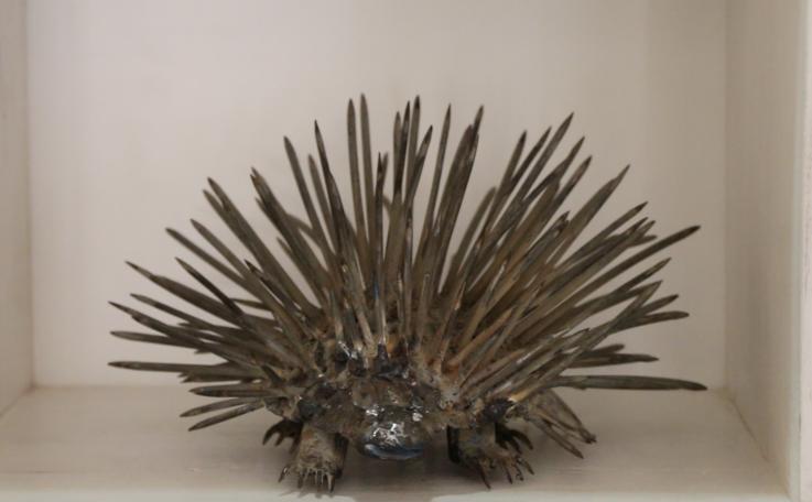 JUnk art porcupine