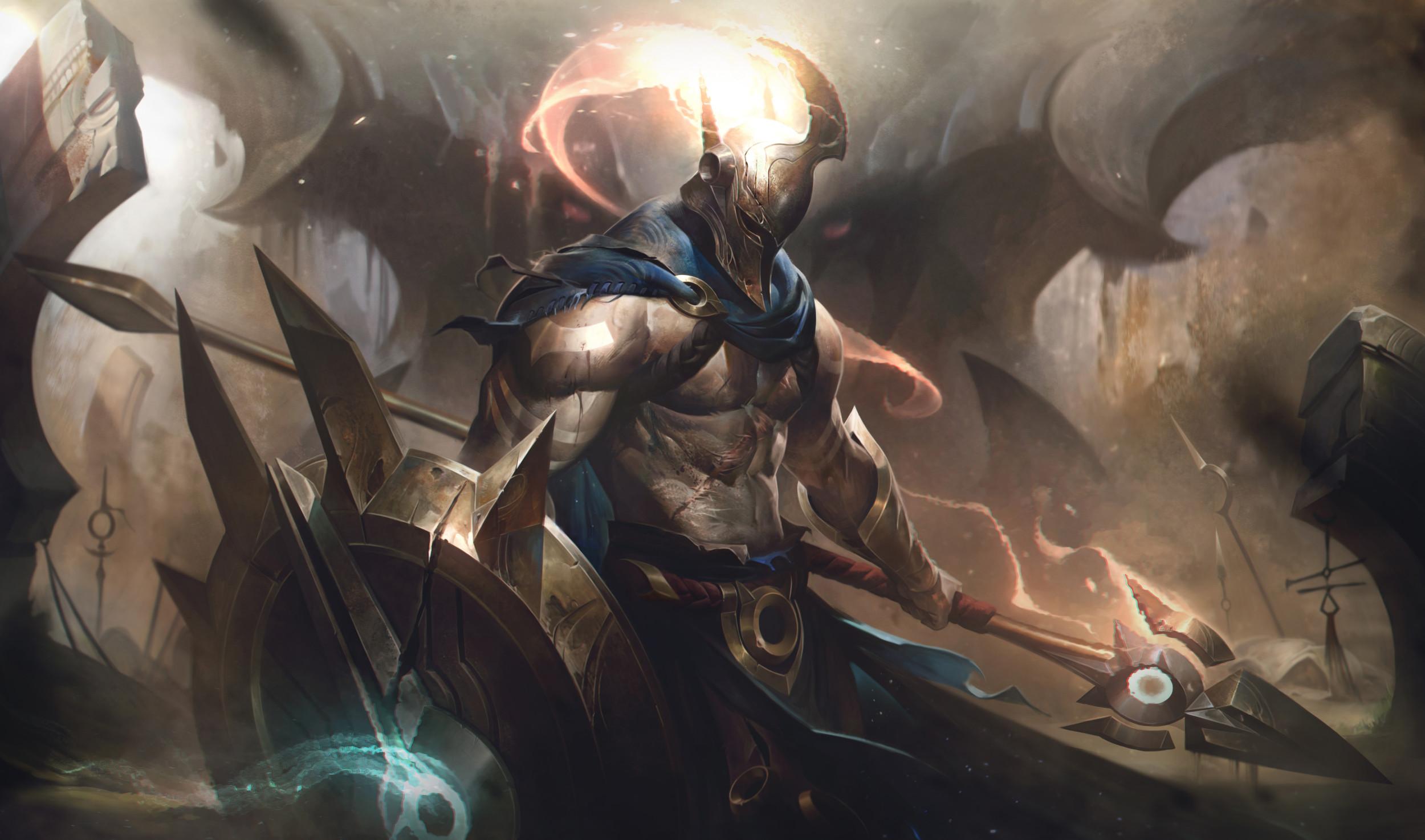 League of Legends' 9 16 Patch Notes: Pantheon Rework Strikes