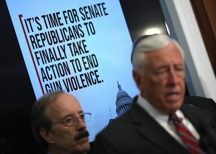 Democrats pressure mitch mcconnell act gun control