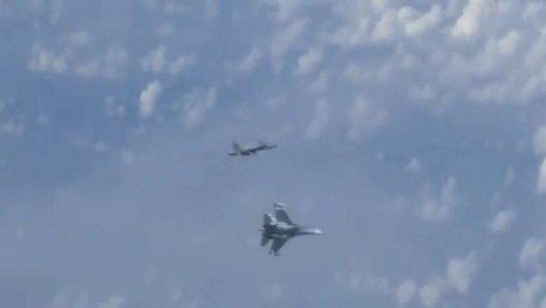russia nato spain jet intercept