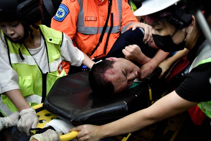 china hong kong protests airport global times