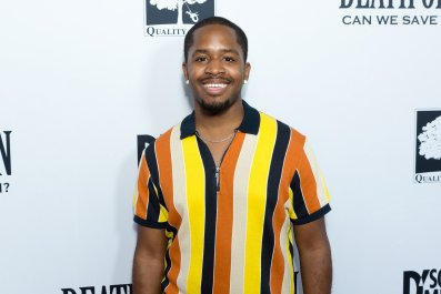 "Terrence Williams attends the ""Death Of A Nation"" Premiere at Regal Cinemas L.A. Live on July 31, 2018 in Los Angeles, California."