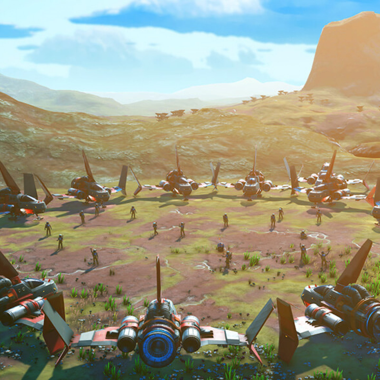 No Man's Sky' Beyond Update 2 03 Adds VR, Multiplayer & More