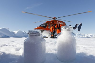 arctic microplastic