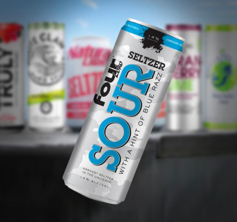 Four Loko's New Sour Hard Seltzer Has 14 Percent Alcohol Volume