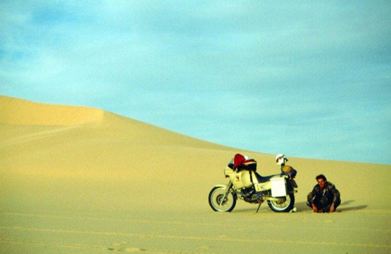 bike tour desert
