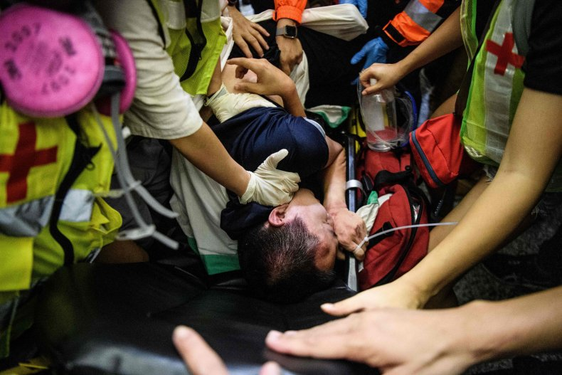china hong kong protests journalist attack