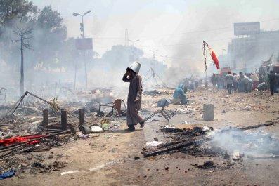 Cairo protest massacre 2013
