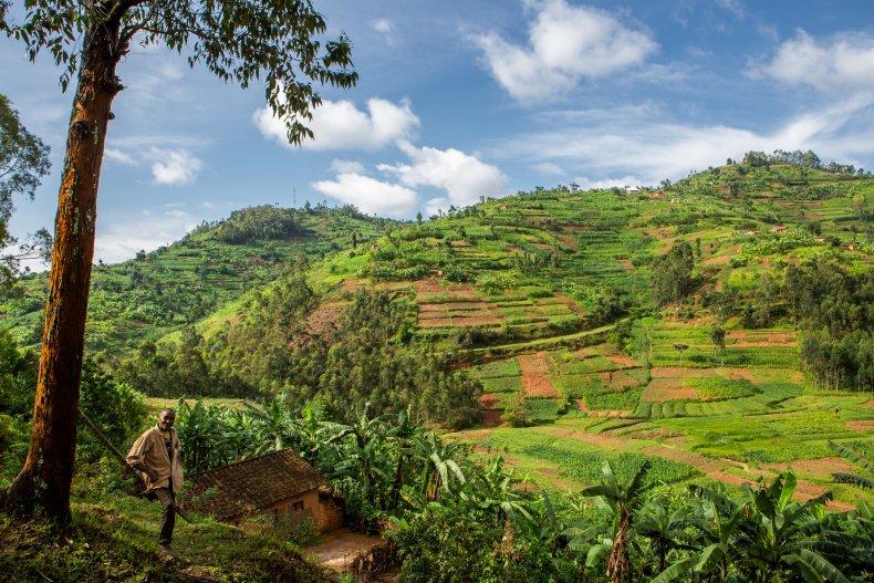 human encroachment rwanda