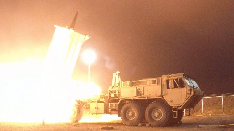 thaad missile defense test alaska