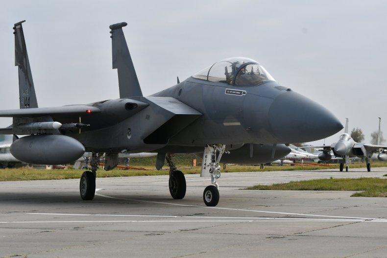 US F-15