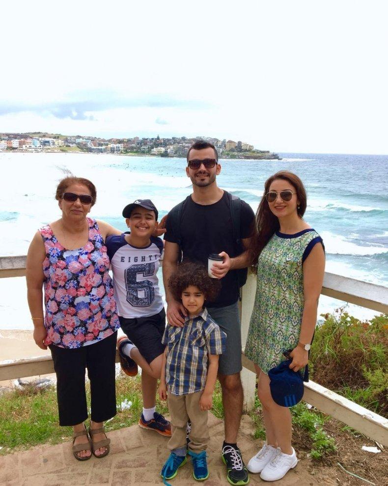 Taif Jany family