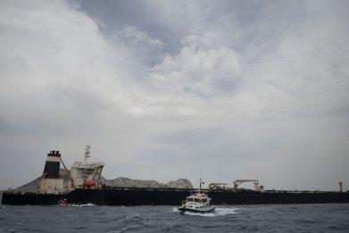 iran tanker uk navy gibraltar