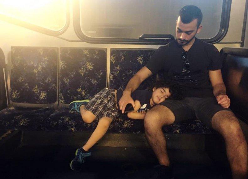 Taif Jany and child 2