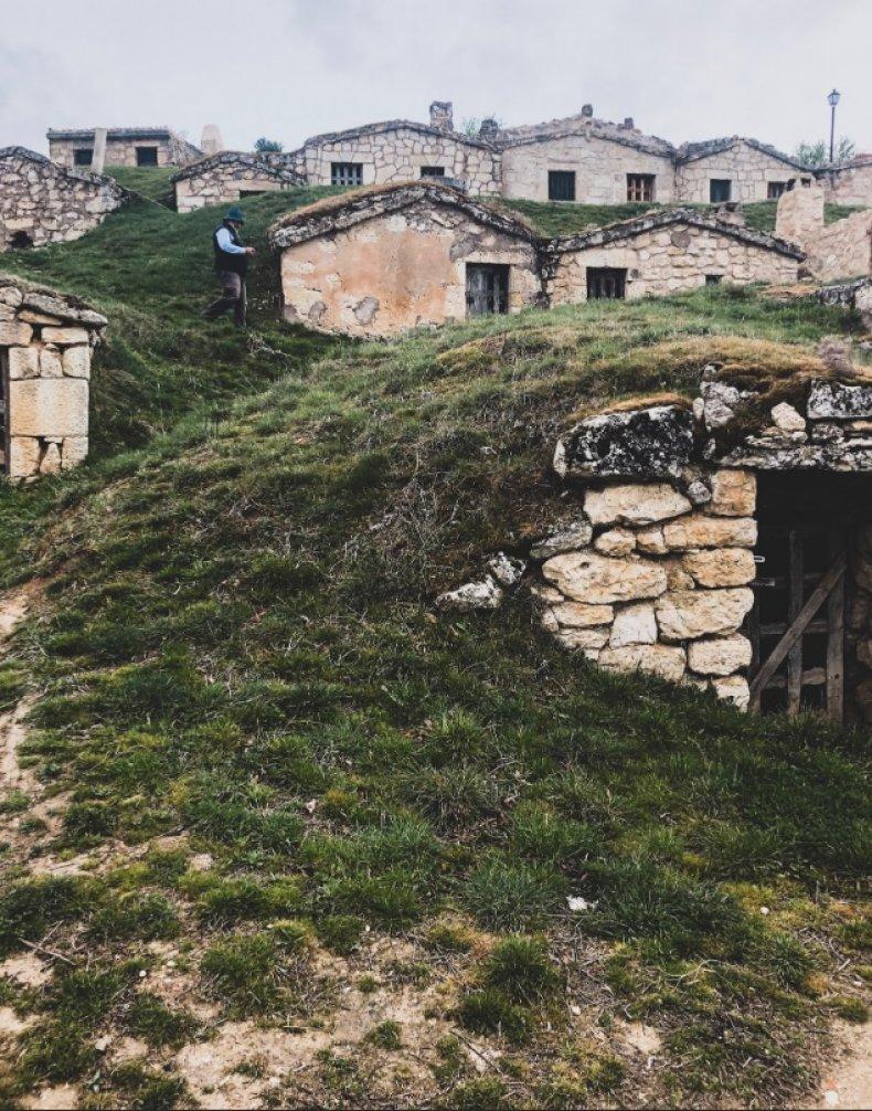 Spainish hillside
