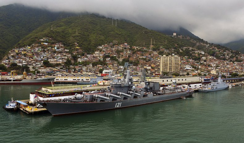 russia navy venezuela military ties