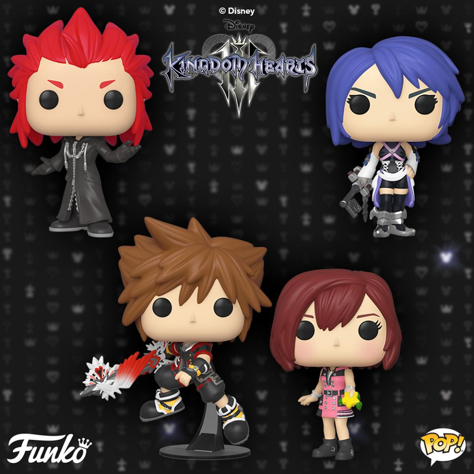 Funko Pop Kingdom Hearts 3 Kairi with Keyblade Vinyl Figure