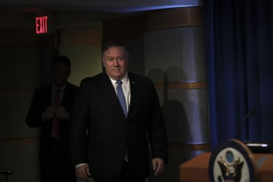 Secretary Of State Mike Pompeo Discusses New Cuba Policy