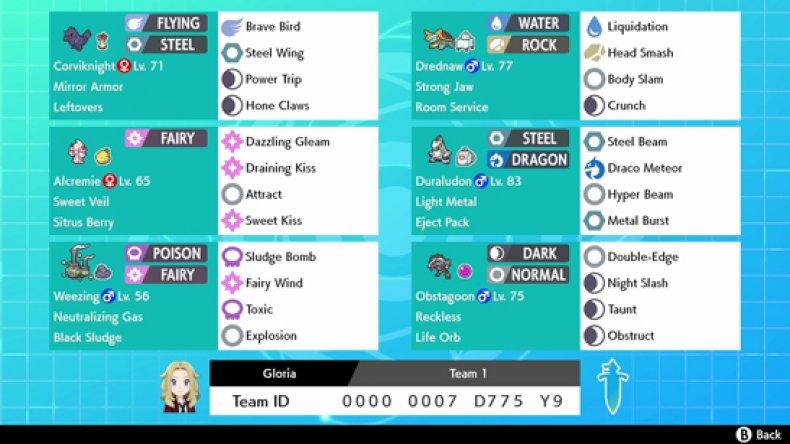 pokemon sword shield rental team