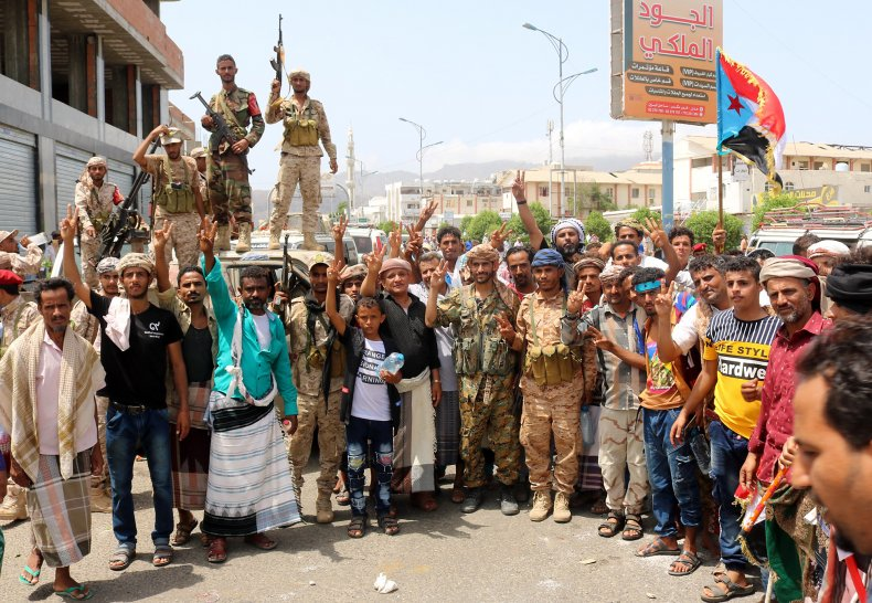 south yemen war fighters conflict