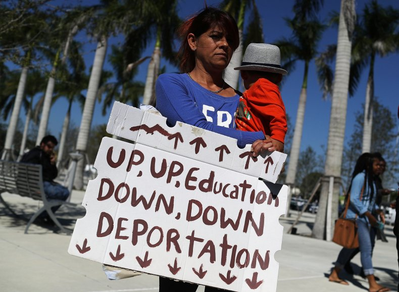 immigration education protest